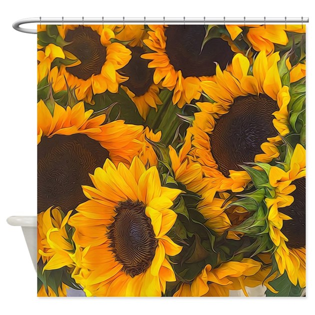 Sunflowers Shower Curtain By Admin CP36431776