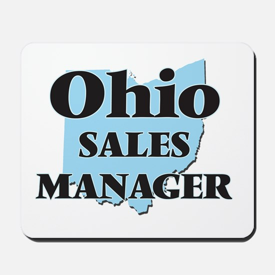 Ohio Sales Manager Mousepad