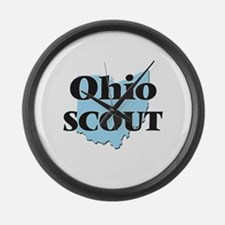 Ohio Scout Large Wall Clock