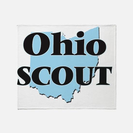 Ohio Scout Throw Blanket