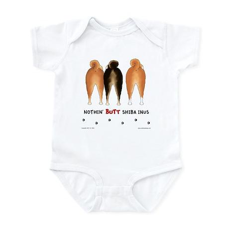 Nothin' Butt Shiba Inus Infant Bodysuit