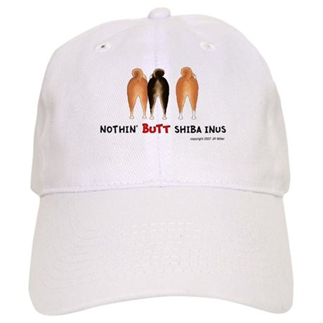 Nothin' Butt Shiba Inus Cap