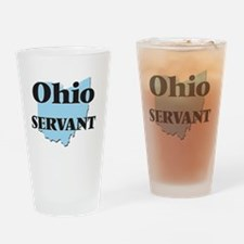 Ohio Servant Drinking Glass