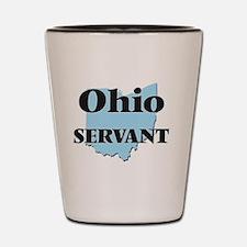 Ohio Servant Shot Glass