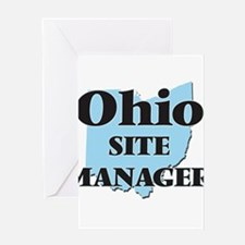 Ohio Site Manager Greeting Cards