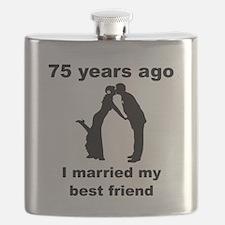 75 Years Ago I Married My Best Friend Flask