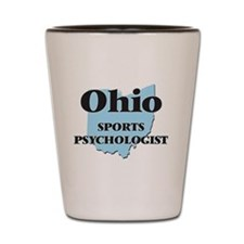 Ohio Sports Psychologist Shot Glass