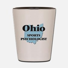 Ohio Sports Psychologist Shot Glass