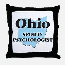 Ohio Sports Psychologist Throw Pillow