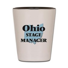 Ohio Stage Manager Shot Glass
