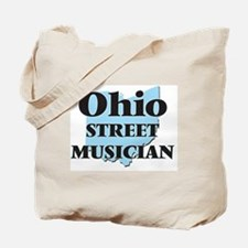 Ohio Street Musician Tote Bag