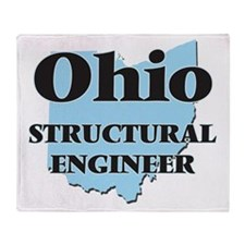 Ohio Structural Engineer Throw Blanket