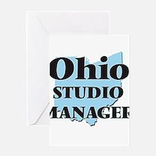 Ohio Studio Manager Greeting Cards
