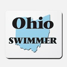 Ohio Swimmer Mousepad
