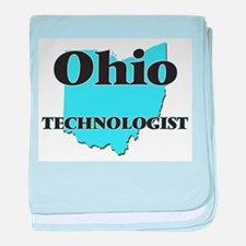 Ohio Technologist baby blanket