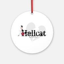 Vintage Hellcat Ornament (Round)