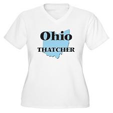 Ohio Thatcher Plus Size T-Shirt