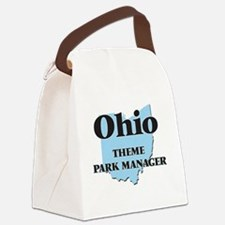 Ohio Theme Park Manager Canvas Lunch Bag