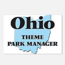 Ohio Theme Park Manager Postcards (Package of 8)