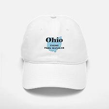 Ohio Theme Park Manager Baseball Baseball Cap
