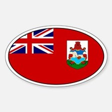 Bermudan stickers Oval Decal