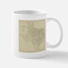 Vintage Texas Highway Map (1919) Mugs