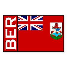 Bermudan stickers Rectangle Decal