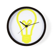 Light Bulb Wall Clock