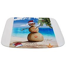 J Rowe Christmas Sandman Bathmat
