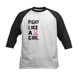 Fight like a girl Baseball Jersey