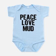Peace, Love, Mud Body Suit