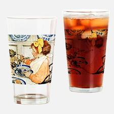 Breakfast Buddies Drinking Glass