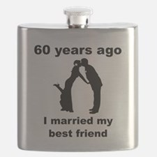 60 Years Ago I Married My Best Friend Flask