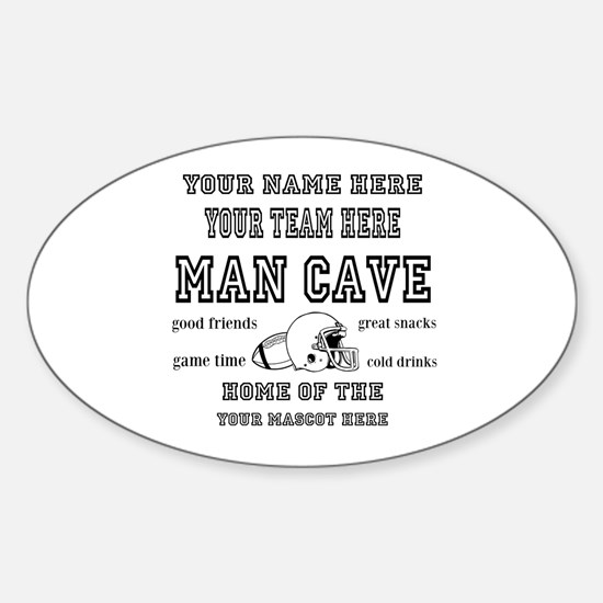 Football Mancave Decal