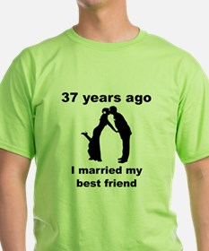 37 Years Ago I Married My Best Friend T-Shirt