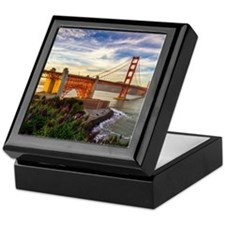 Golden Gate Bridge Keepsake Box
