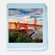 Golden Gate Bridge baby blanket