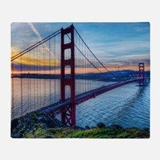 Golden Gate Bridge Throw Blanket