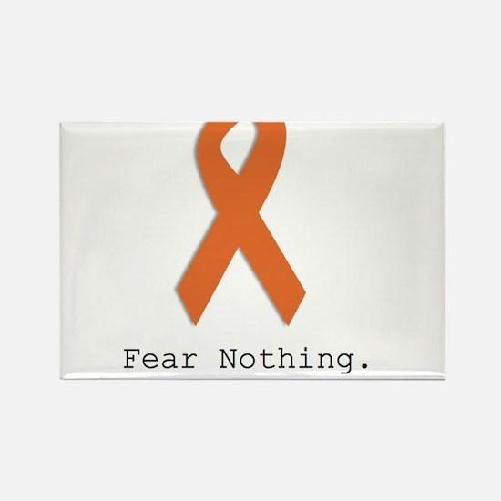 Fear Nothing: Orange Ribbon Magnets