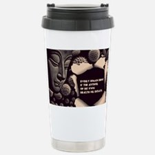 Buddha Every Human Bein Stainless Steel Travel Mug