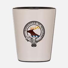 Davidson Clan Shot Glass