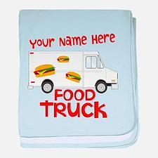 Food Truck baby blanket