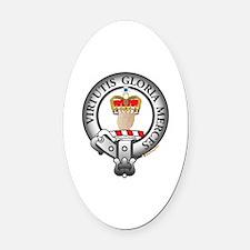 Donnachaidh Robertson Clan Oval Car Magnet