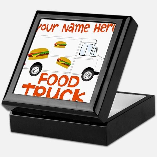 Food Truck Keepsake Box