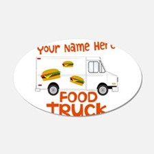 Food Truck Wall Decal