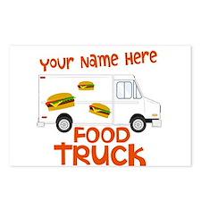 Food Truck Postcards (Package of 8)