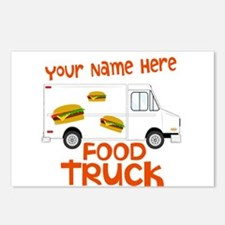 Food Truck Postcards (Package of 8)