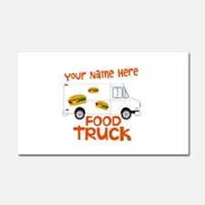 Food Truck Car Magnet 20 x 12