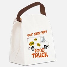 Food Truck Canvas Lunch Bag