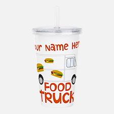 Food Truck Acrylic Double-wall Tumbler